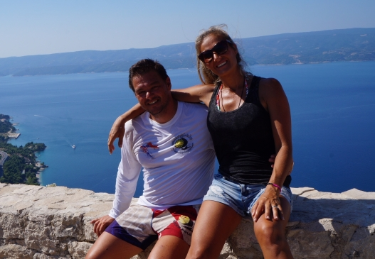 omis from the top
