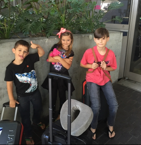 travelin with kids
