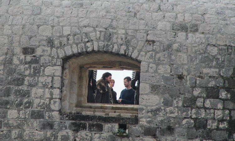 Jon Snow filiming in Dubrovnik