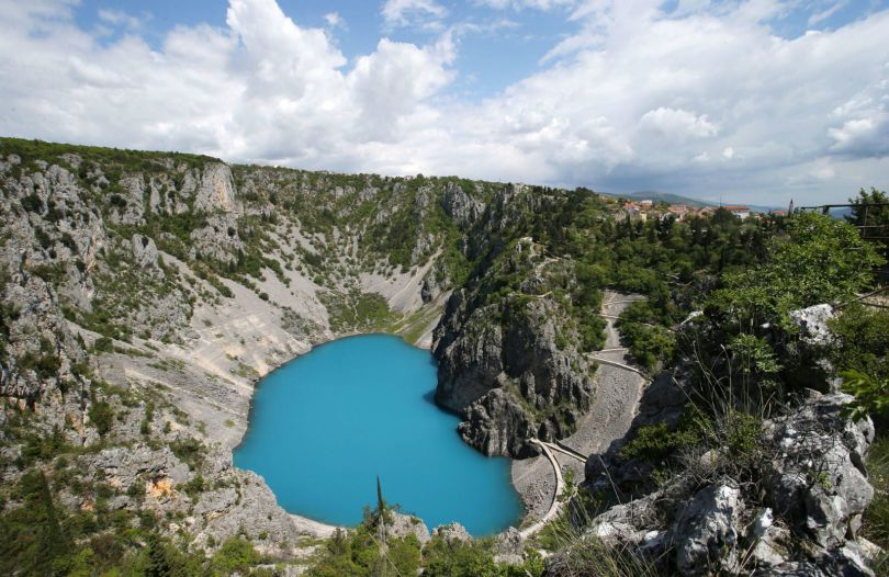 blue lake from Ivo Cagalj